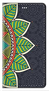 ZAPCASE Printed Flip Cover for Sony Xperia C3
