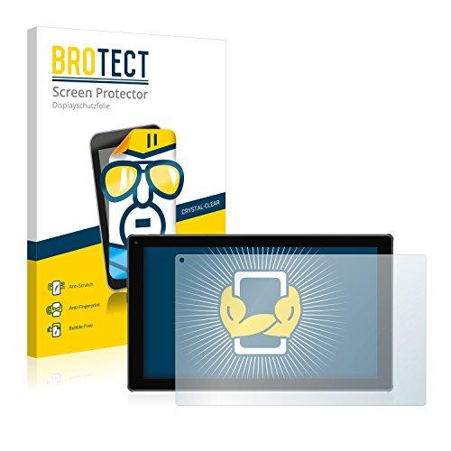 BROTECT Schutzfolie kompatibel mit Blaupunkt Endeavour 101G [2er Pack] klare Bildschirmschutz-Folie