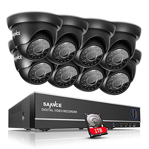 Mejorado-720P-HD-SANNCE-Kit-de-8-Cmaras-de-Vigilancia-Seguridad-Onvif-H264-CCTV-DVR-P2P-8CH-AHD-1080N-y-8-Camaras-720P-IP66-Impermeable-IR-Cut-Visin-Nocturna-Hasta-20MExterior-y-Interior-HDMI-42-LEDs-