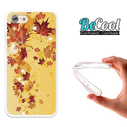 BeCool®- Coque Etui Housse en GEL Flex Silicone TPU Iphone 8, Carcasse TPU fabriquée avec la meilleure Silicone, protège et s'adapte a la perfection a ton Smartphone et avec notre design exclusif. Il  L1215