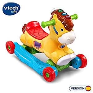 VTech 2 in 1 Rocking Horse Rider Set Includes Two Play Modes (80-191422), Colour/Model Assortment