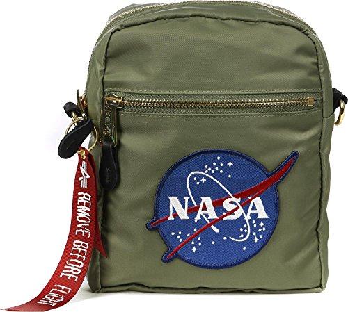 Alpha Industries Flyers Kit NASA Tasche (Umhängetasche Alpha)
