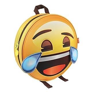 Emoji Mochila Infantil Llorando de Risa con Relieve 28x28x9 cm