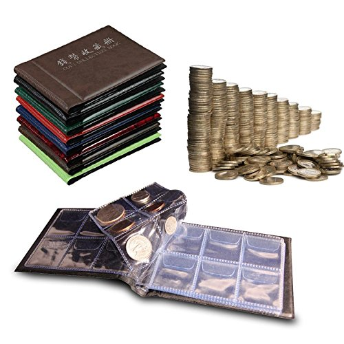 Sammlung Buch Penny (trendyest 60 Slots Geld Penny Pocket Coin Collection Halter Storage Album Buch)