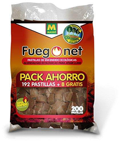 FUEGO NET Fuegonet 231281N Pastillas Ecológicas