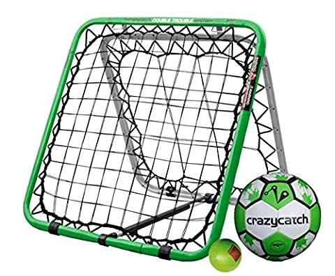 Football Rebounder - Crazy Catch (with 2 balls - Football & Visionball)
