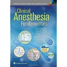 Clinical Anesthesia Fundamentals 1/e PB....Barash