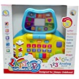 New English Learning Fun Interactive Screen Laptop Toy For Kids Activities With Music And Other Play Activities
