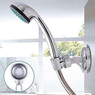 Shower Holder Wall Mount Vacuum Suction Cup Adjustable Shower Head Bracket Bathroom Accessory