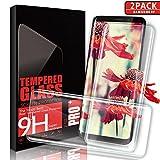 Aonsen Samsung Galaxy S9 Vetro Temperato, [2 pack] Copertura Completa Pellicola Protettiva, HD Screen Galaxy S9, 9H Protezione Resistente, Trasparenza ad alta definizione, Anti-riflesso Vetro Temperato - Trasparente