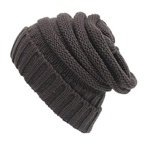 Warme Beanie Mütze - iParaAiluRy Unisex Wintermütze Strick Mütze für Herren und Damen - Soft Slouchy Wollmütze im Winter Herbst und Frühling