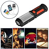 SunTop Led Work Light,Rechargeable LED Portable Inspection Lamp Torch Camping Light with Magnetic Clip, Household Workshop Automobile Camping Emergency Use Bild 2