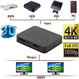 Challeng 2019 Ultra HD 4K HDMI Splitter 1X2 Hub Amplificateur Répéteur 2 Ports 3D 1080p 1 in 2 Out HDMI Convertisseur Audio Câble de Recharge USB Connexion Ordinateur Portable, PC à HDTV