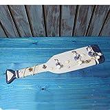 YWJHY Boat Paddel Dekorative Haken Wandbehang Holzmantel Haken Retro-Wand Hinter Der Tür Veranda,Weiß,Einheitsgröße