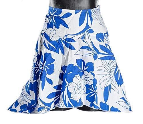 Roxy Quiksilver May Damen Rock Größe M Surfwear Weiss blau Sommerrock NEU (Quiksilver-rock)