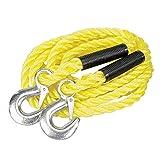 Silverline 442793 - Cuerda para remolque 2 toneladas (14 mm x 4 m)