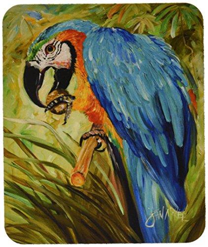Caroline's Treasures JMK1147MP Mauspad mit blauem Papageien -