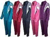 Produkt-Bild: Paris Damen Baumwolle Jogginganzug, Trainingsanzug, Sportanzug, Freizeitanzug, Hausanzug - Verschiedene Farben