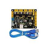 keyestudio Grbl CNC controller board mit USB-Kabel, DIY CNC Grbl V0.9Mikrocontroller für Laser Schere, automatische Hand Schriftsteller, Loch aufzubohren, Graffiti Maler und der Zeichnen Maschinen