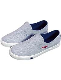 MM Fashion ventilación Casual zapatos de Lienzo, azul, 44