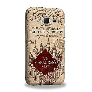 Case88 Premium Designs Harry Potter & Hogwarts Collections Marauder's Map Coque protectrice pour pour Samsung Core Prime