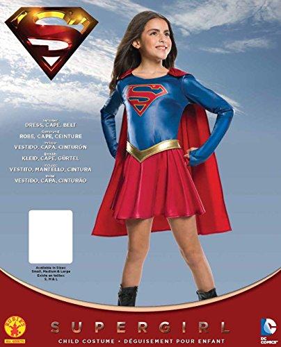 Imagen de rubie's official disfraz supergirl serie de televisión, disfraz infantil, 147cm–grande, 8/10años alternativa