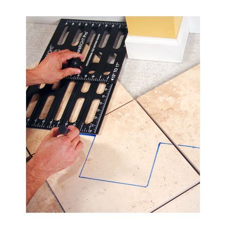 TileRight TR0004 Measure Right Pro 10-Inch to 17-Inch Tile Setter Template by TileRight