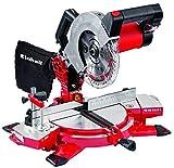 Einhell Kapp Gehrungssäge TE-MS 2112 L (1400 W, Sägeblatt Ø 210 mm, Schnittbreite 120 mm, schwenkbarer Sägekopf, Laser, LED-Licht)
