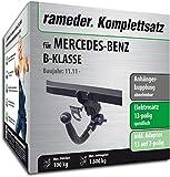 Rameder Komplettsatz, Anhängerkupplung abnehmbar + 13pol Elektrik für Mercedes-Benz B-KLASSE (145652-09769-1)
