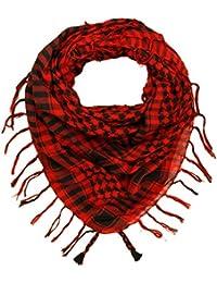 Kuldip Unisex Junge und Mädchen Chequered arabischer Arafat Shemagh Kafiyah Wüste Art-Schal Throw