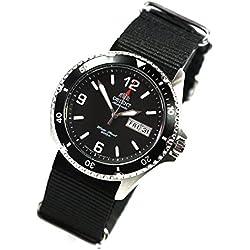 Orient 5Deep automatique jour Date Mako II Montre de plongée montre homme faa02001b de l'OTAN