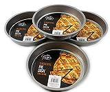 Giftsbynet Stahl, antihaftbeschichtet, rund, Backen Kuchen Tablett Bakeware Küche 20,3cm-20cm Pie Tortenbodenform
