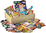 Beautiful Wooden Crate of Retro Sweets - Light Wood - Over...