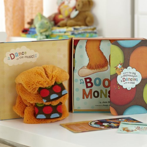 By Bissett, Josie ( Author ) [ Boogie Monster Dance Kit [With Plush Boogie Legs Socks and CD (Audio)] ] Jul - 2011 { Hardcover }