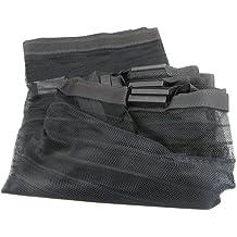 Beamfeature HWP110276 - Cortina mosquitera para puertas (magnética), color negro