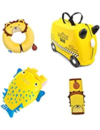 Trunki Juego de maletas, amarillo (amarillo) - 0334-GB01
