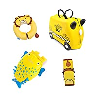 Trunki Trunki 4 Piece Ultimate Summer Bundle - Luggage Set, Yellow