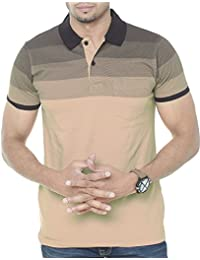 ec52937403f Amazon.in  Beige - T-Shirts   Polos   Men  Clothing   Accessories