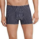 Schiesser Herren Boxershorts Shorts, Blau (Dunkelblau 803), Large (Herstellergröße: 006)
