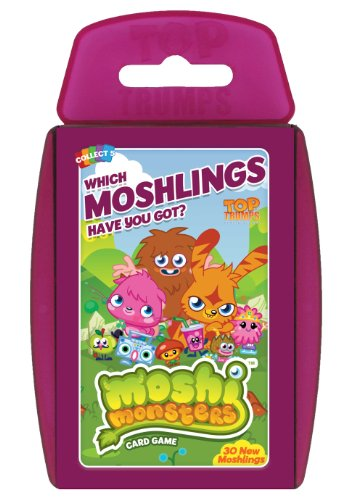 Top Trumps - Moshi Monsters Pack 2