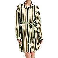 cd13ea8690 Vestido de Mujer a Media Pierna Lonshell Otoño Invierno Las señoras de la  Moda Mini Vestido