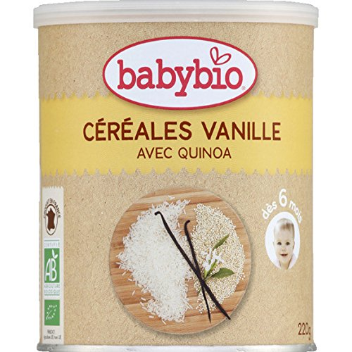 Babybio - Céréales poudre à vanille et quinoa