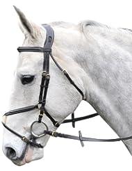 """GFS Full - Riendas para caballo ( acero inoxidable ) , color marrón, talla Full """""""