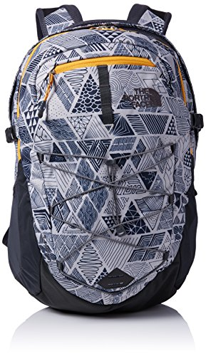 The North Face North Face Borealis Sac à Dos Mixte Adulte, Gris (HEATHER GREY/GREY CAMO) 31.1 x 33 cm, 28 Liter