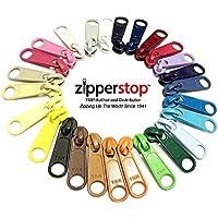 zipperstop soluzione all' ingrosso–Kit di riparazione con cerniera YKK Long Pull Zipper Capi 9pcs–4,5mm, Sliders/Pulls–Scelta di pezzi, laminati, o Mix Assorted 9pcs Mix