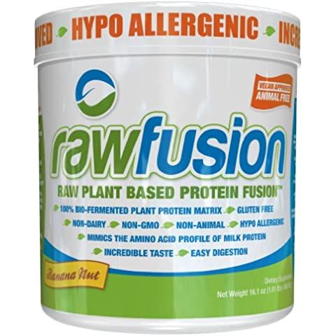 SAN Raw Fusion Supplement, Banana Nut, 1
