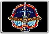 Soyuz TMA-13M - ISS Soyuz Mission Patches, Insignia fridge magnet - Kühlschrankmagnet