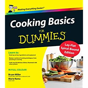 Cooking Basics For Dummies, (Spiral-bound Hardback)