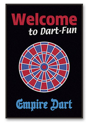 Empire Dart Schmutzfang-Matte Welcome to Dart Fun