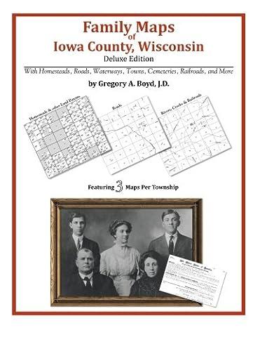 Family Maps of Iowa County, Wisconsin